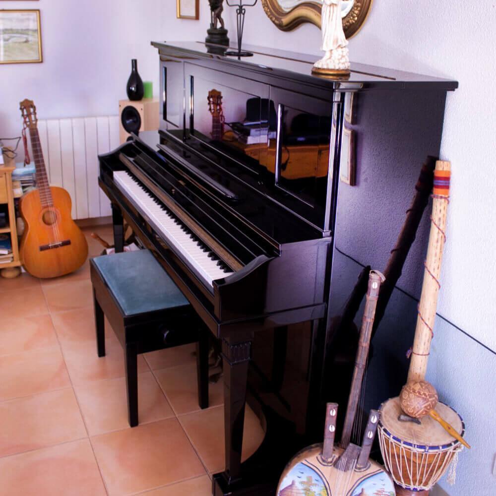 No salão da Vila de Sol irá encontrar vários jogos e instrumentos musicais