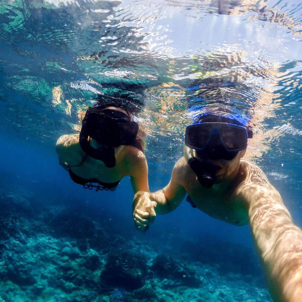 Explorar Sesimbra com batismo de mergulho